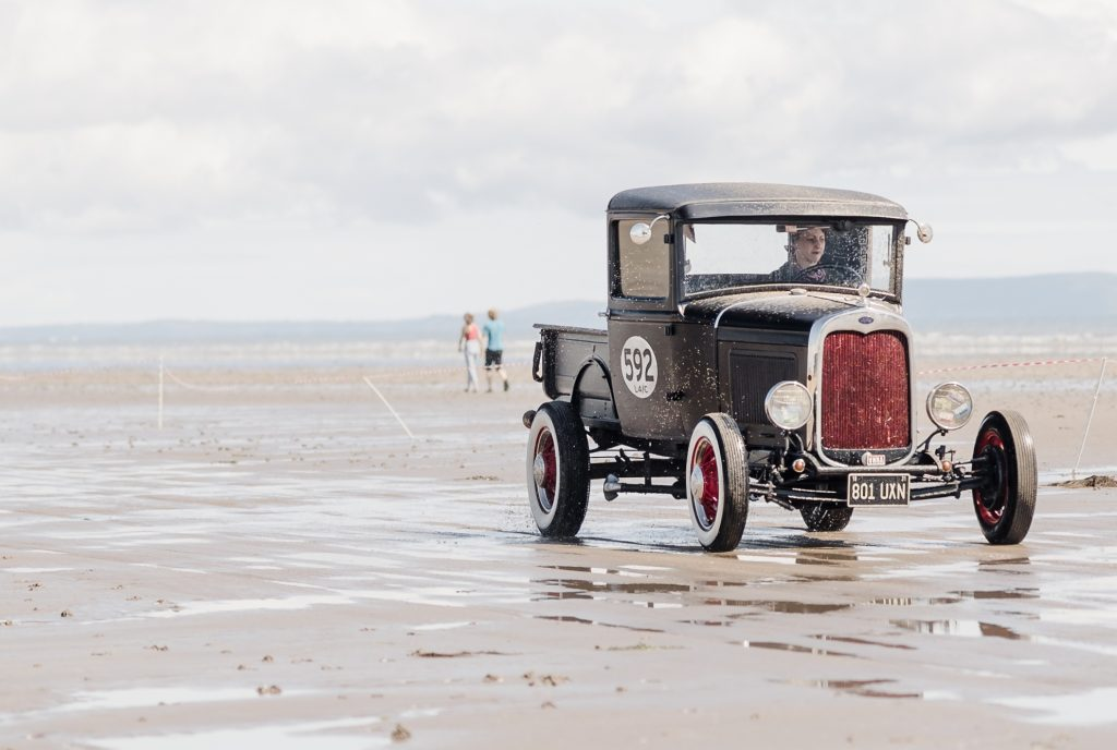 1931 Model A pick-up driven by Debbie Clewlow