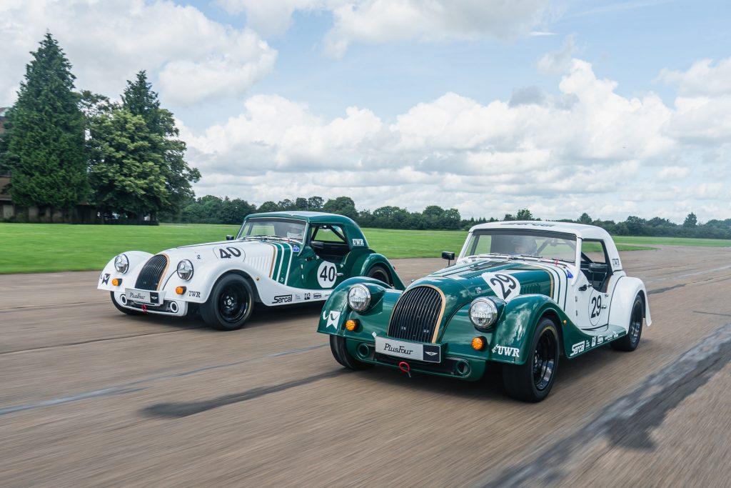 Morgan Plus Four racing cars