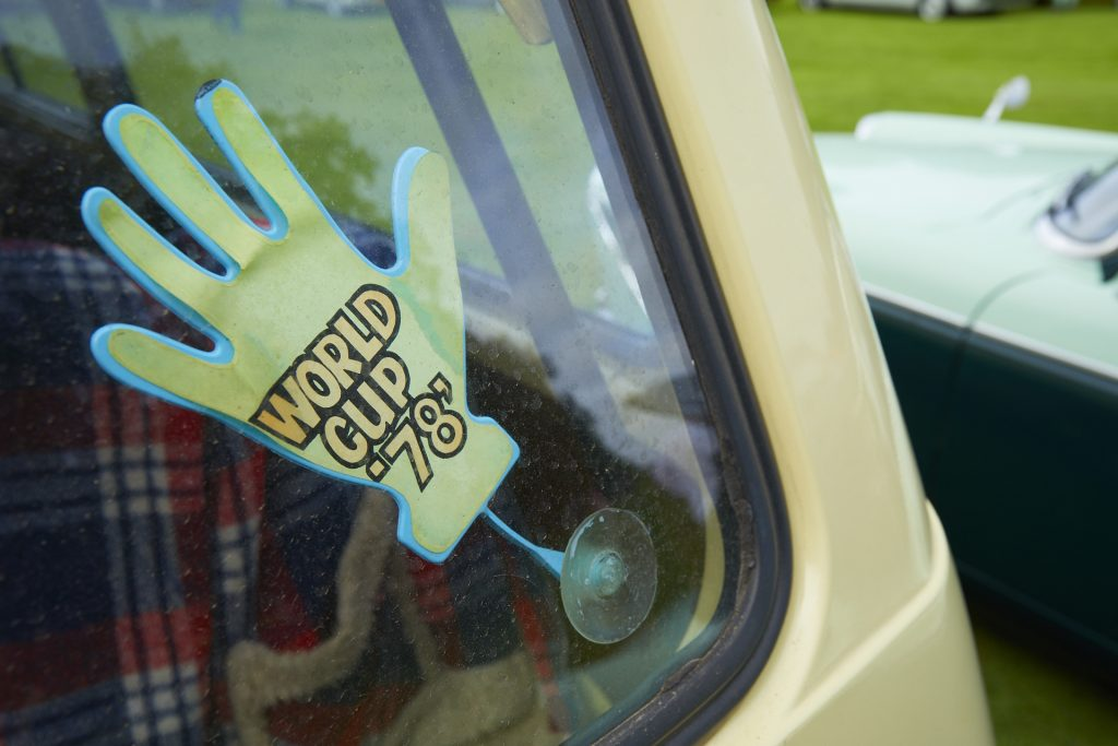 Wolrd Cup 1978 window stickerFestival of the Unexceptional