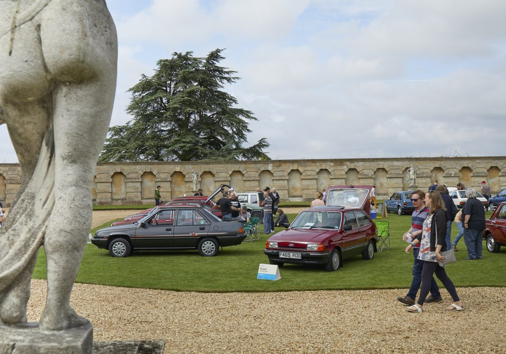 Concours lawn at the 2021 Hagerty Festival of the Unexceptional