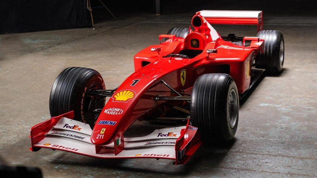 2001 Ferrari F2001, ex-Schumacher – £5.4m