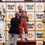 Mansell Piquet Senna Silverstone 1987