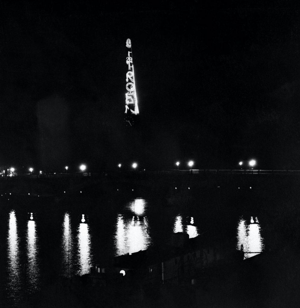 Citroën illuminates the Eiffel Tower