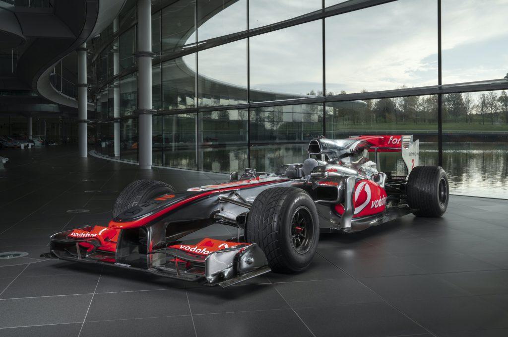 Lewis Hamilton McLaren sells for £4.8 million at British Grand Prix