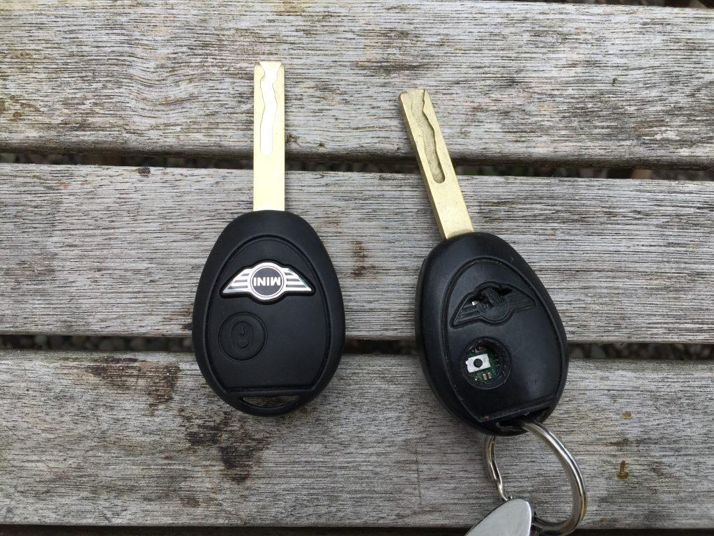 A new key for 2004 Mini Cooper S
