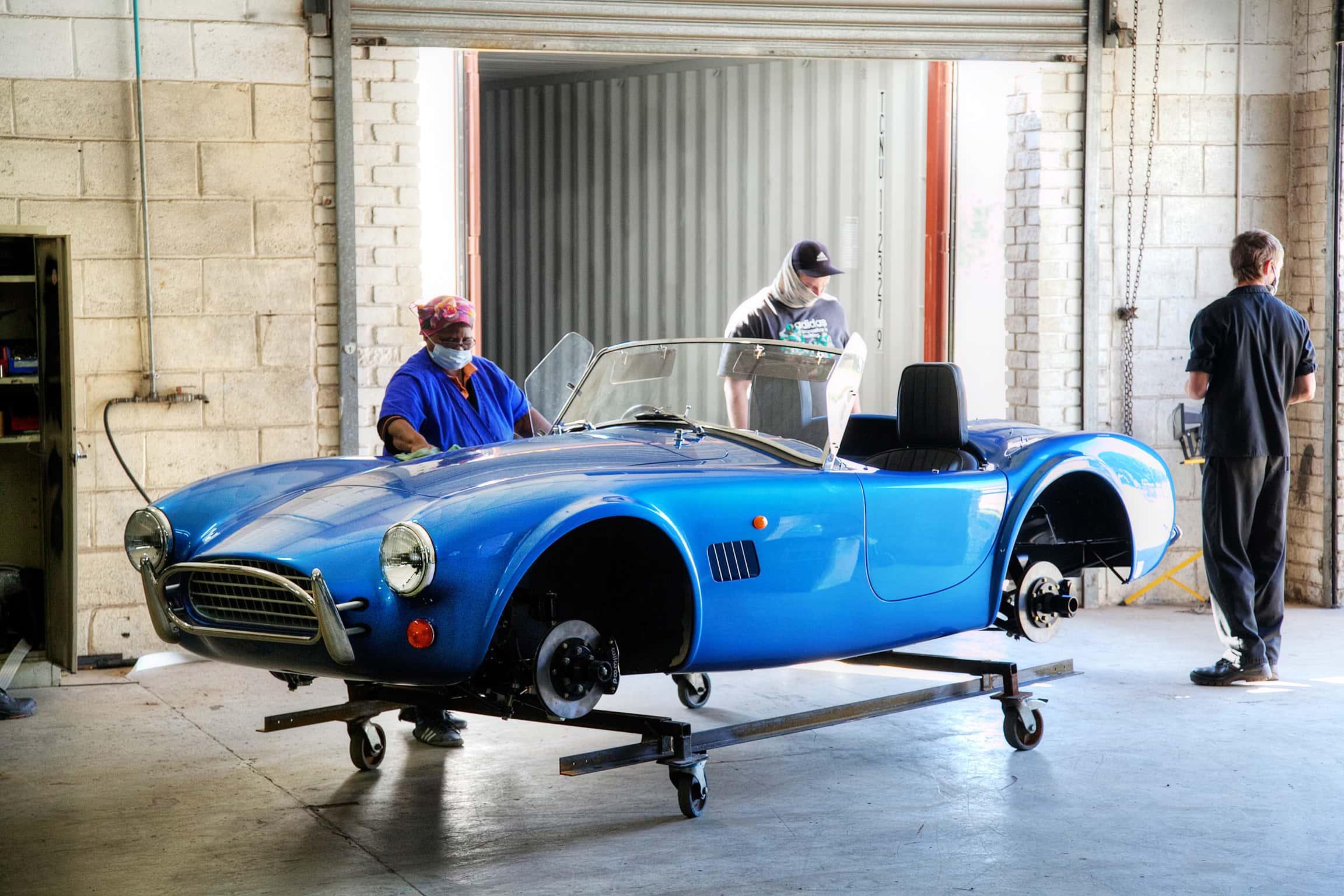 Electric Cobra returns as AC readies Series 1 EV