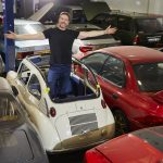 Saint Cowland of Cars and his ever-growing flock