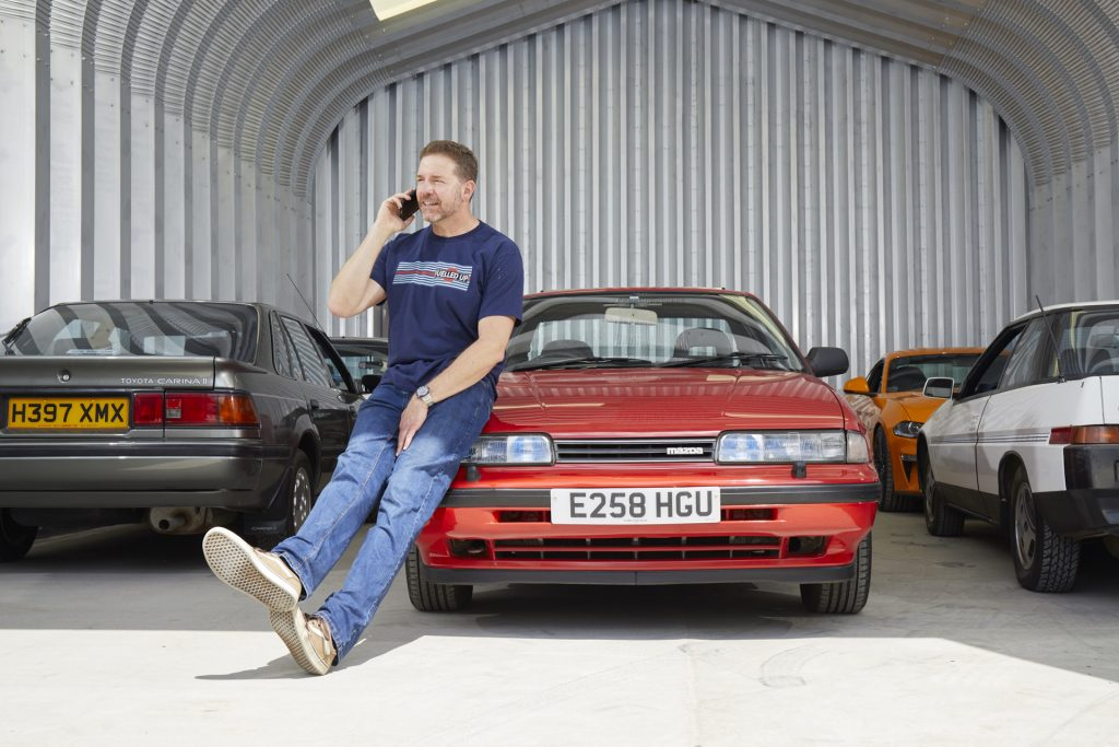 Mazda 626 belongs to Paul Cowland