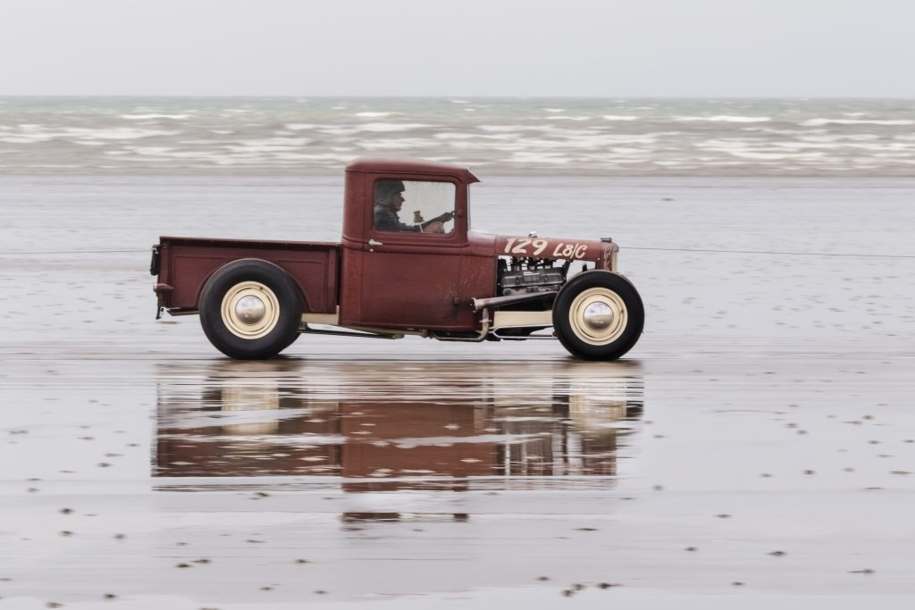 shortened 1932 Model B pick-up owned by Melissa Gee