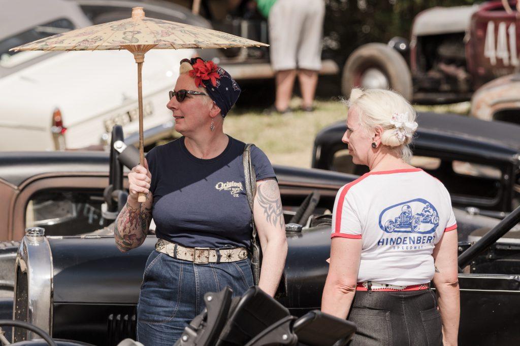 Melissa Gee hot rod owner