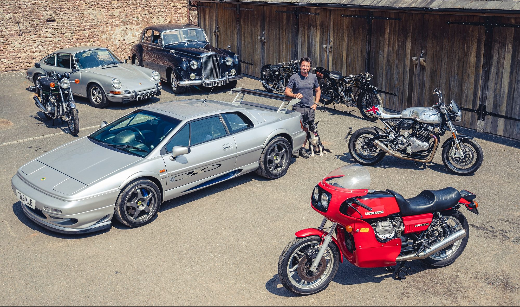 Richard Hammond is selling his car and bike collection to help fund new restoration business