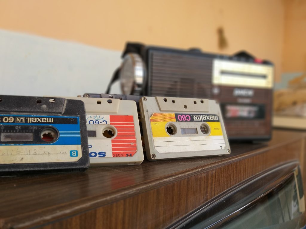 Compact Cassette tapes