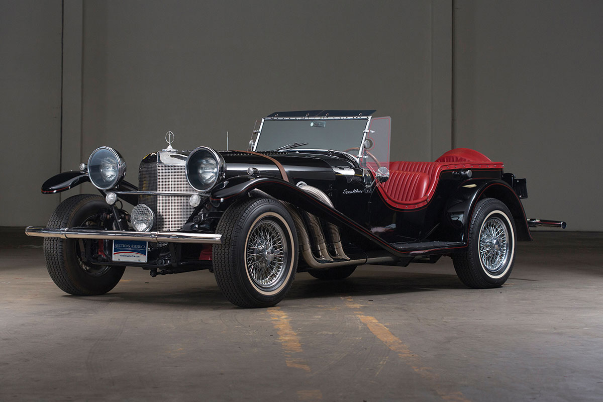 Cars That Time Forgot: SS Automobiles Excalibur