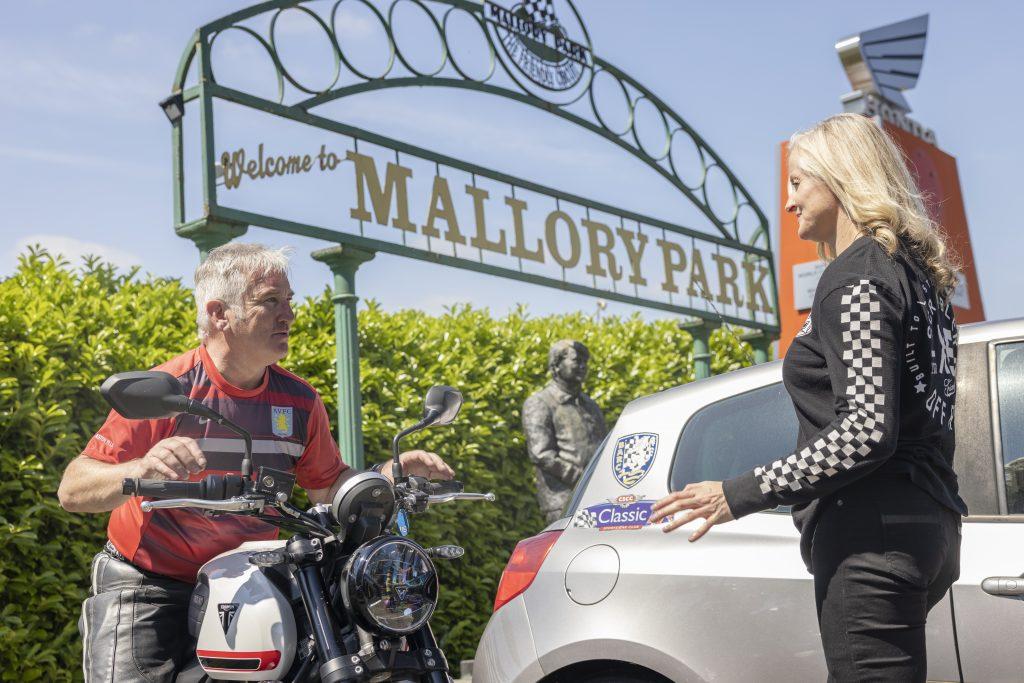 Maria Costello undergoes advanced rider training