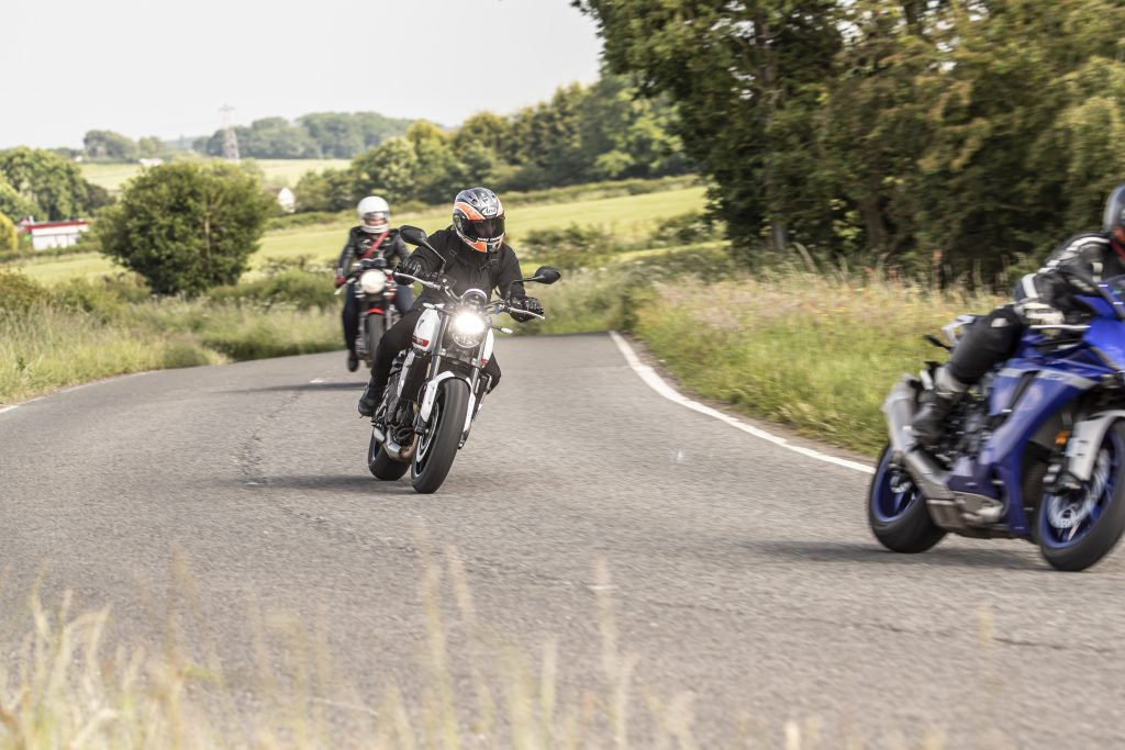Advanced rider training motorcycles
