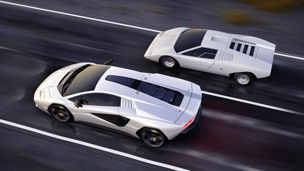 Countach and Countach together