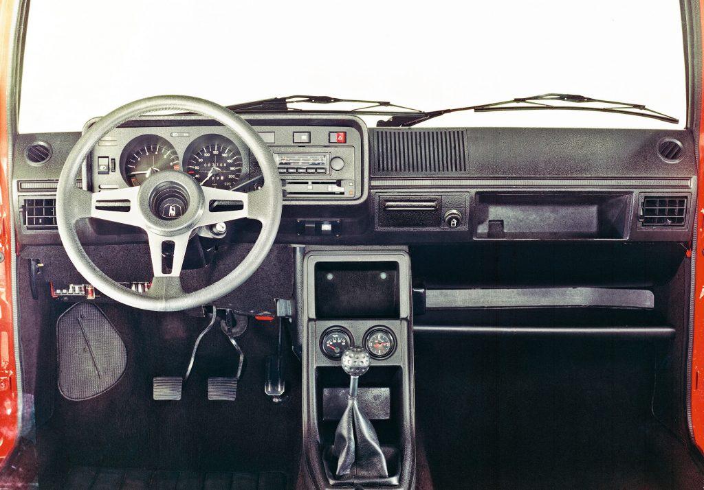Volkswagen Golf GTI 1976 interior left-hand drive