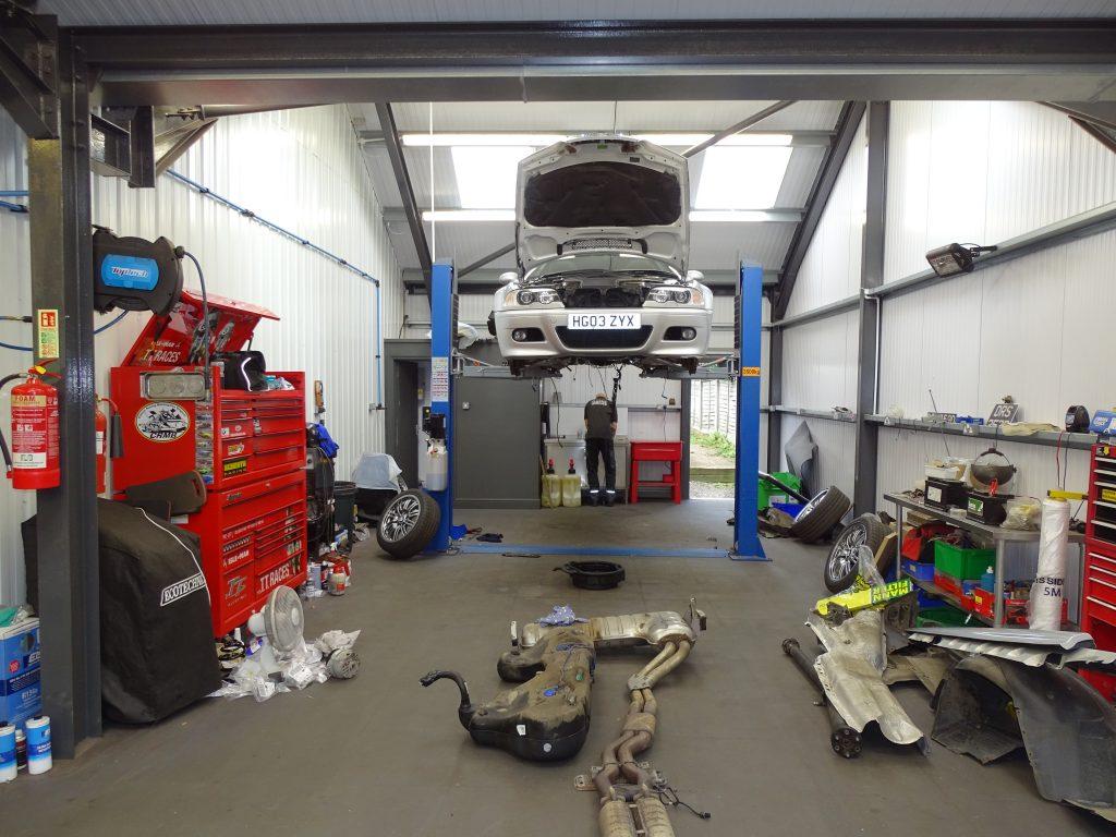 BMW M3 E46 underside restoration_James Mills running report