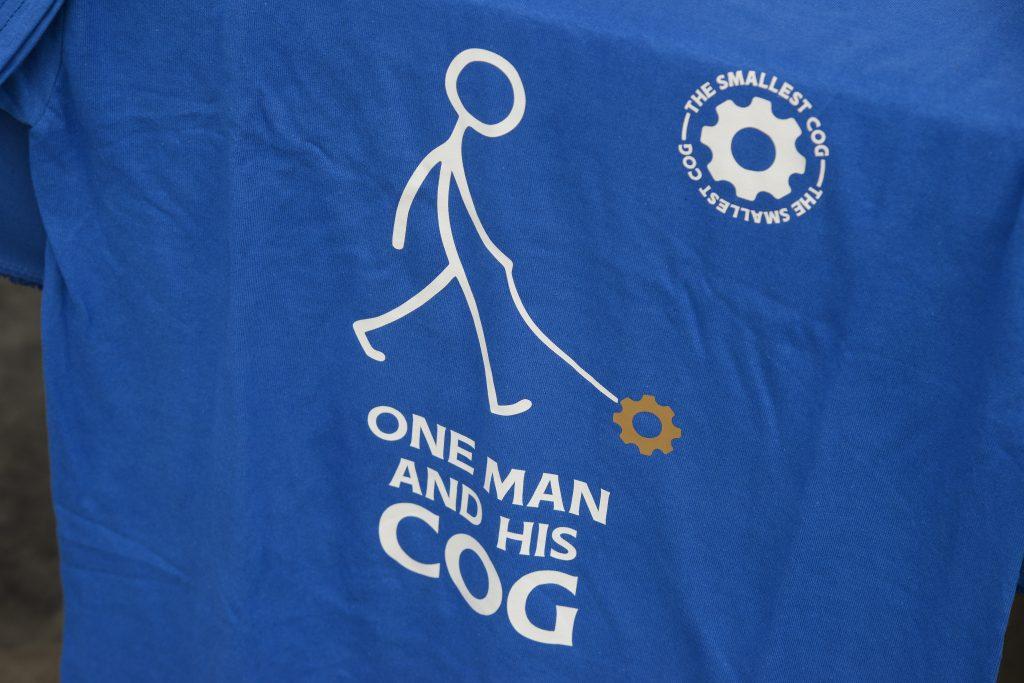 The Smallest Cog t-shirt
