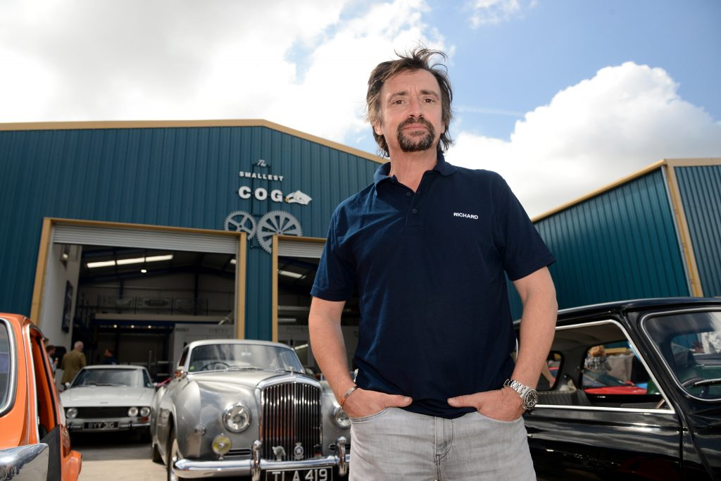 Richard Hammond exclusive interview about The Smallest Cog
