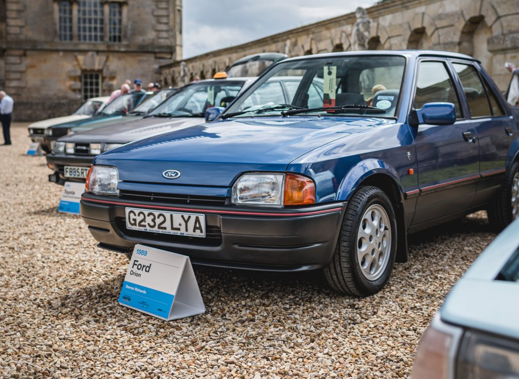 Ford Orion Ghia Injection