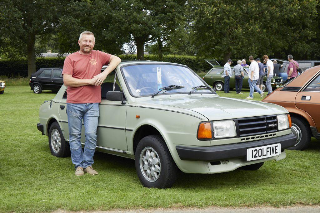 Mick Rayner, 1989 Škoda Estelle 120 L5 1200CC