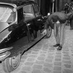 Charles de Gaulle Citroen DS