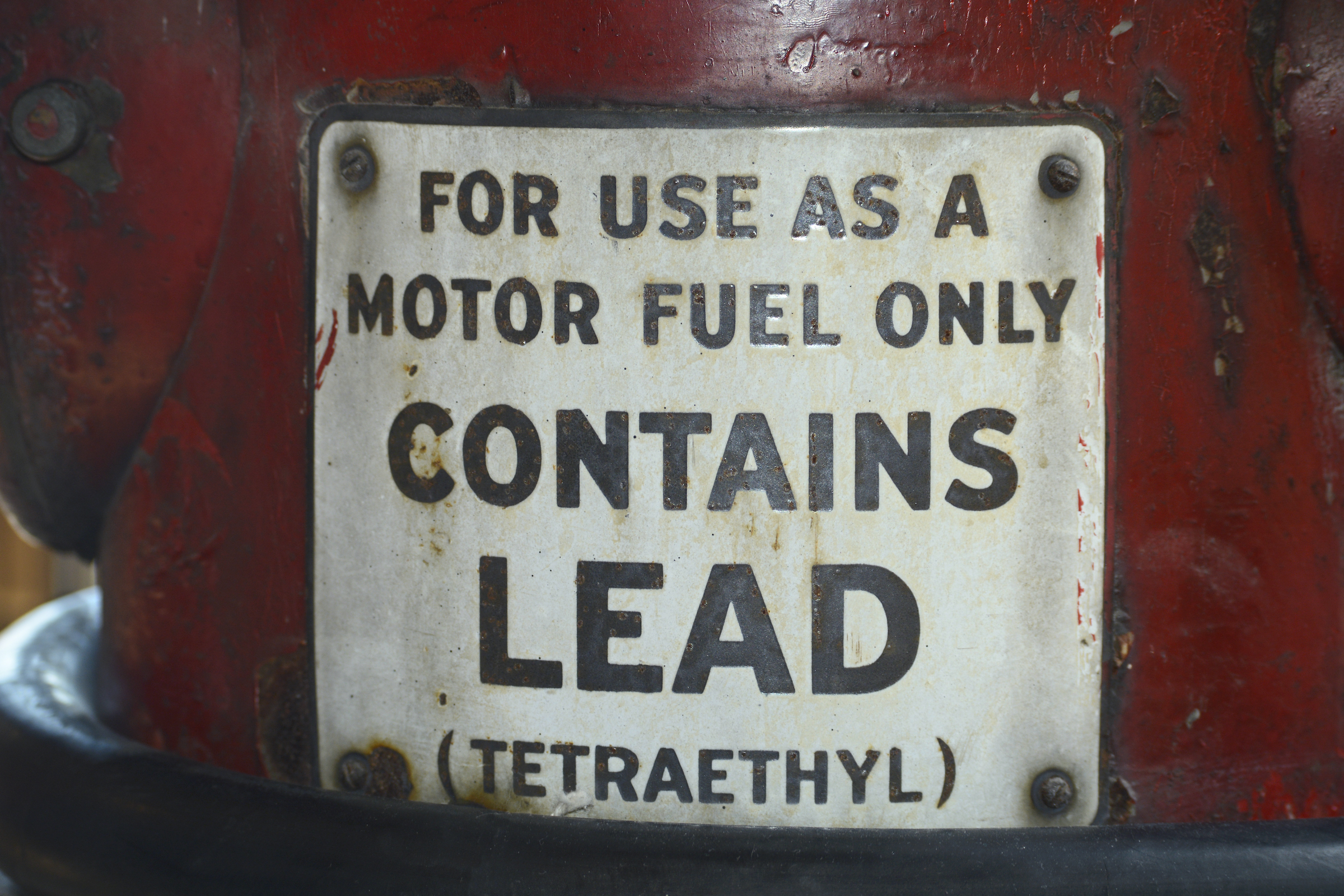 End of the road for leaded petrol