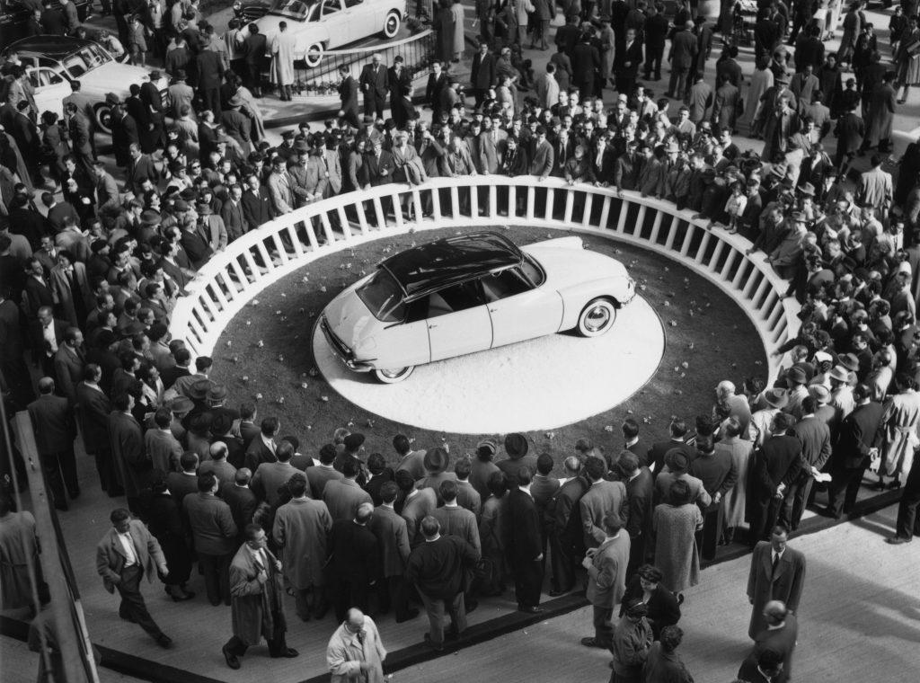 Citroen DS-19 at the 1955 Paris Motor Show