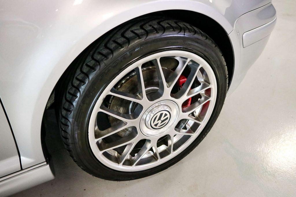 VW Golf GTI 25 Anniversary BBS wheel