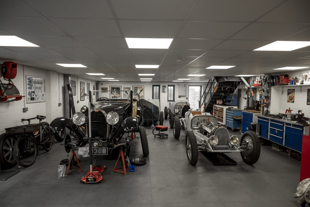 Inside a Bugatti specialist