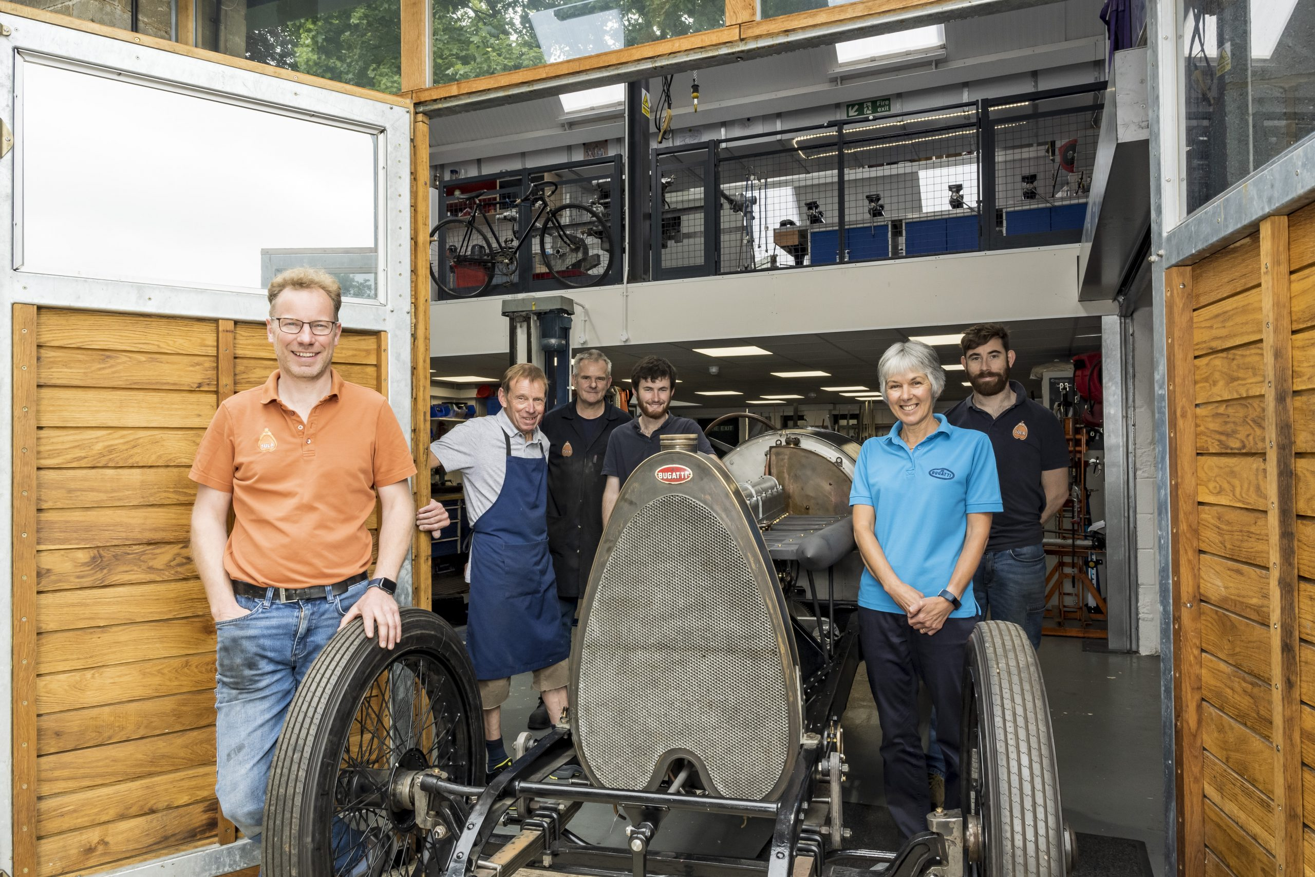 Young blood gives new life to old Bugattis at Tula Precision