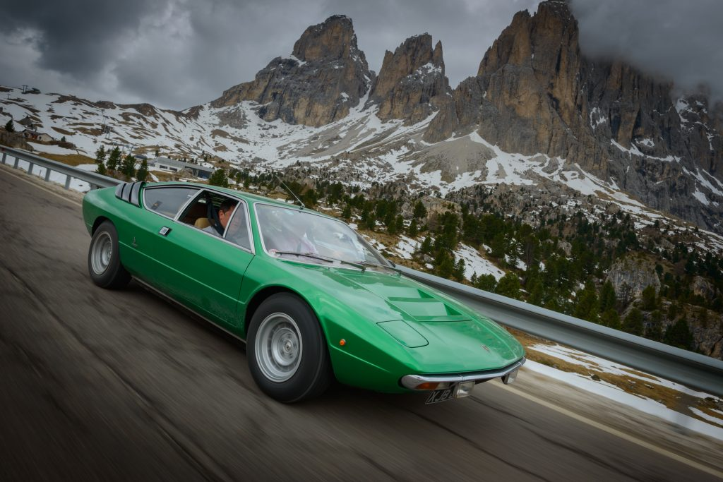 Lamborghini Urraco saved by Mike Brewer