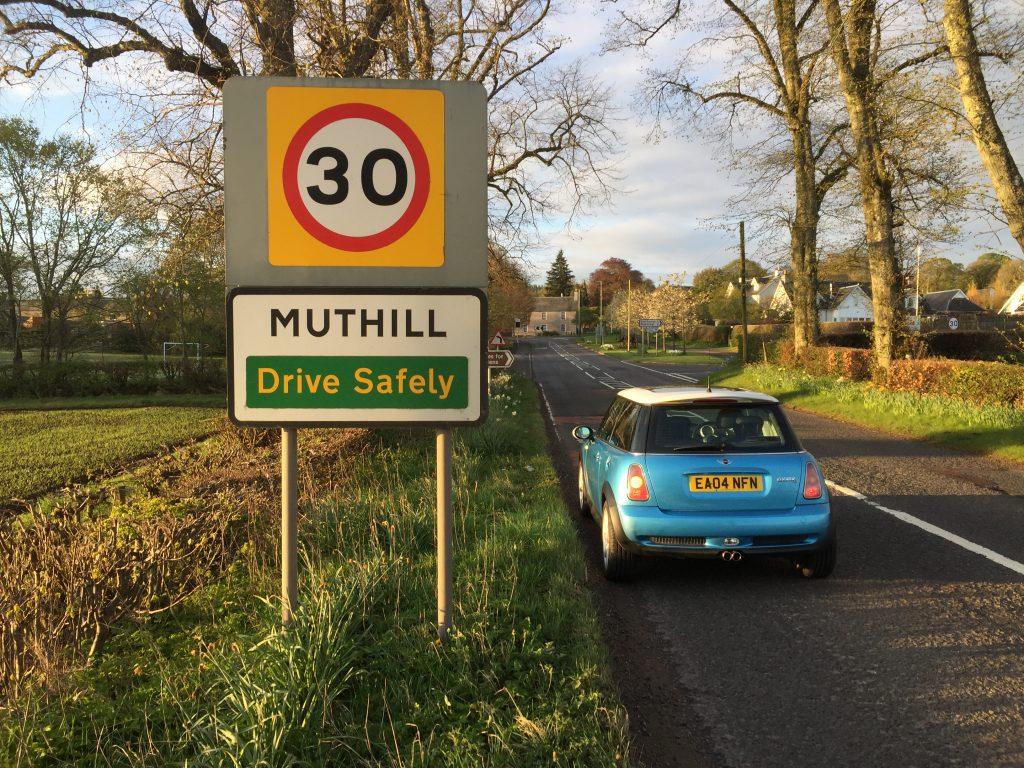 Mini Cooper S Dawn Patrol in Muthill