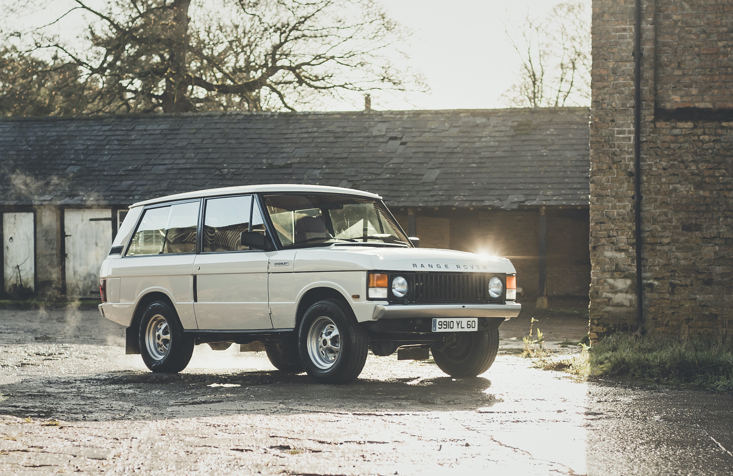 Driving the Kingsley KR Series, a restomod Range Rover