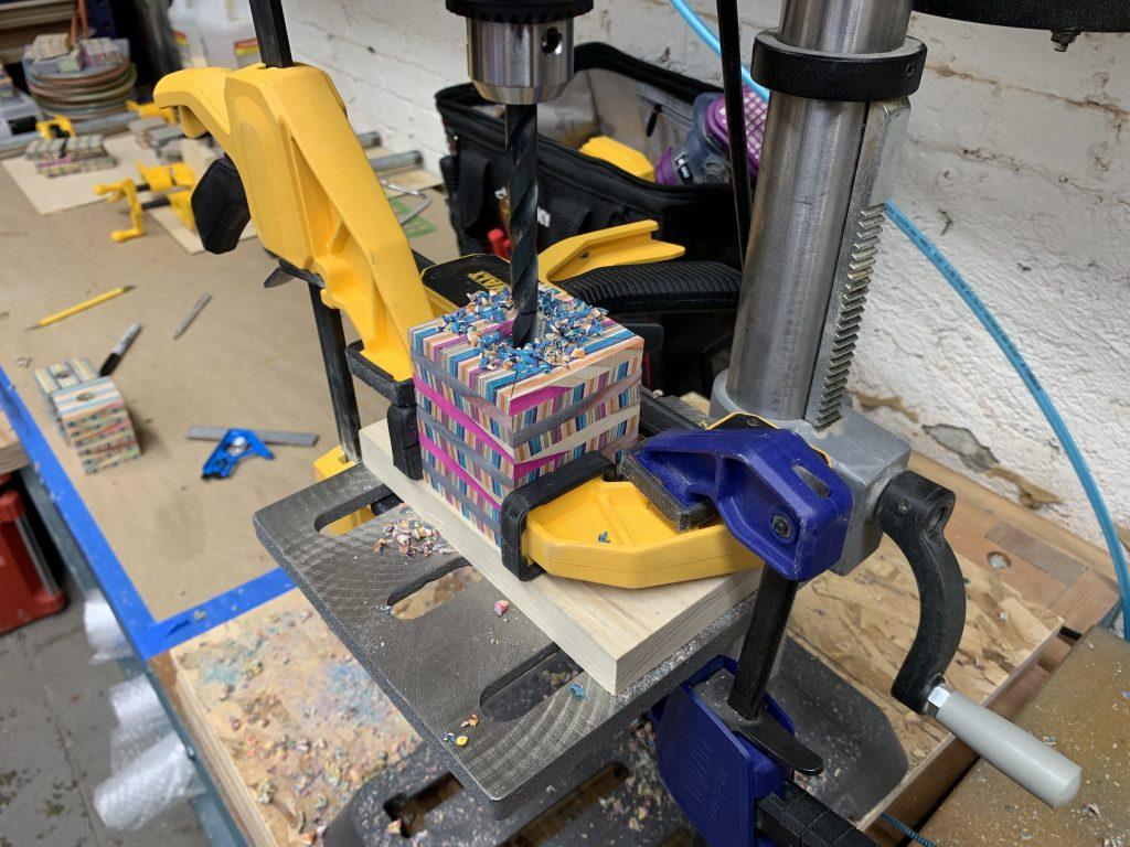 Manual ware gearknob process