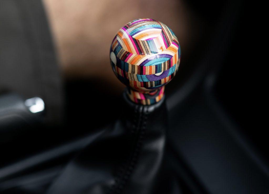Manual ware gearknob
