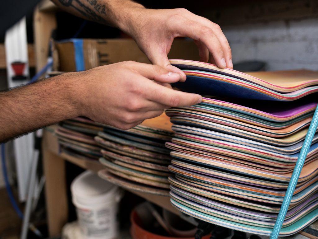 Manual Ware skateboard decks