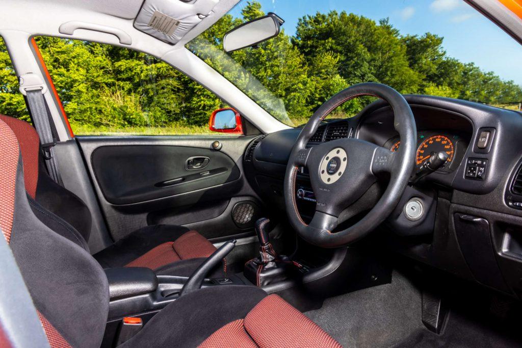 Mitsubishi Lancer EVO VI Tommi Makinen Edition ineterior