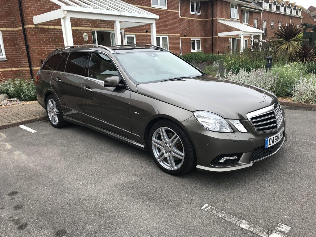 James Mills buys a Mercedes E350 CDI estate