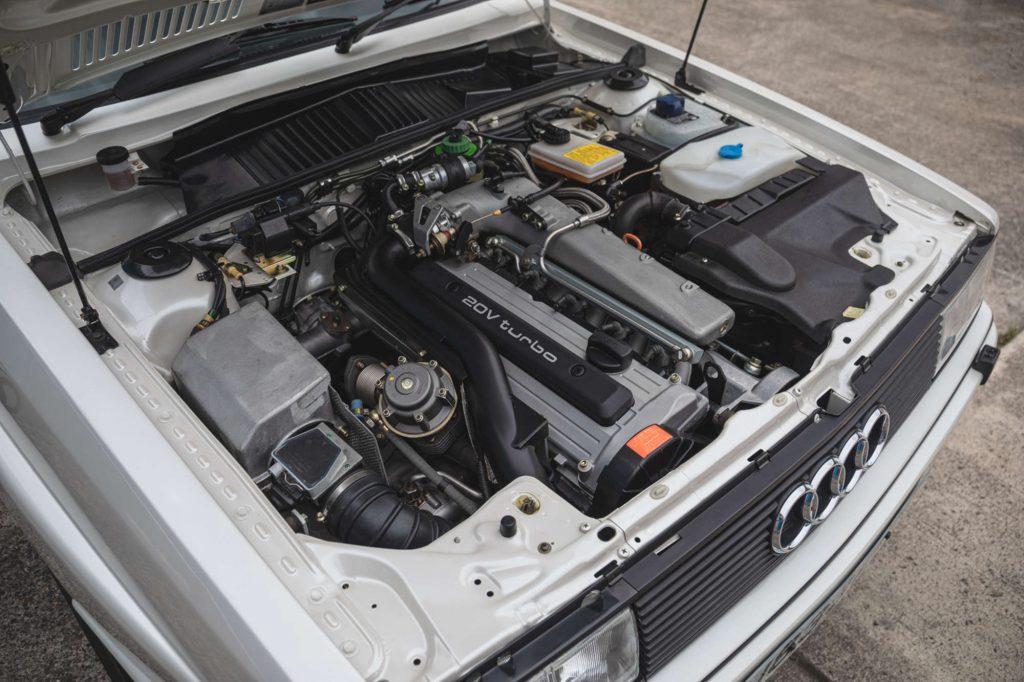Audi Quattro 20v engine