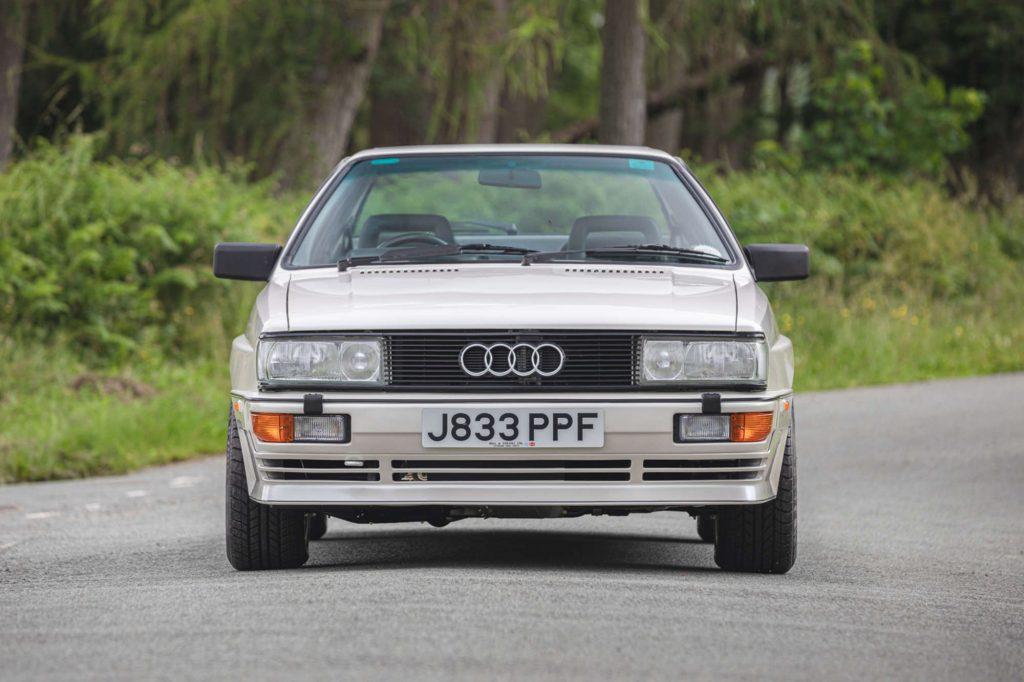 Audi Quattro 20v front view