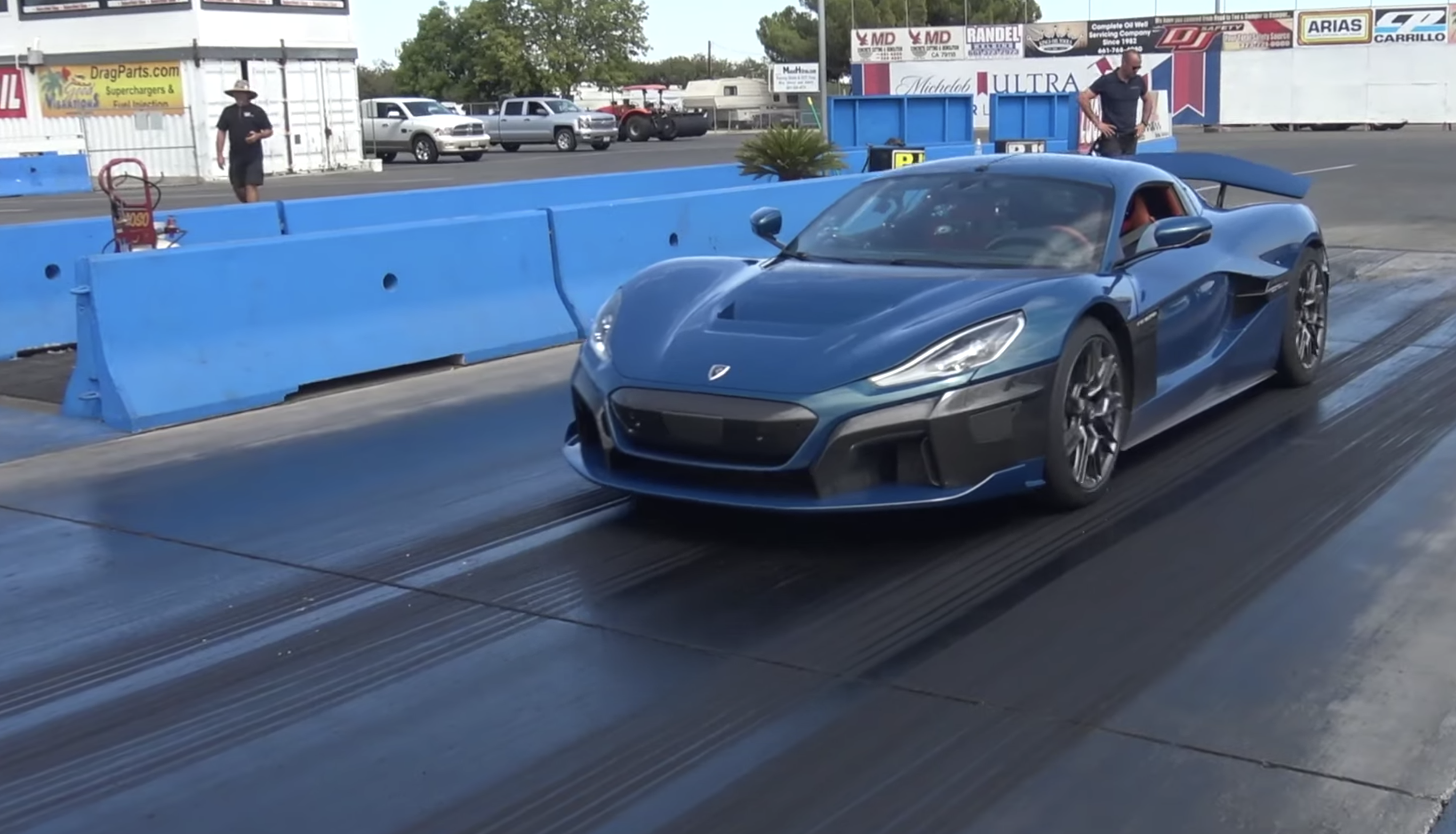 Rimac Nevera is the new king of the drag strip