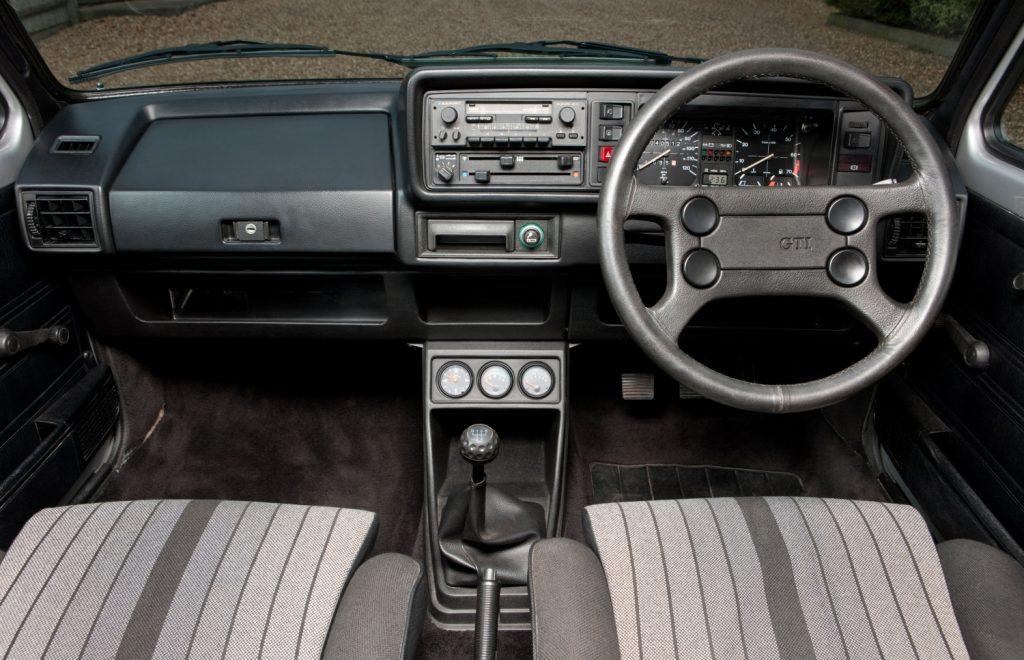 1983 Golf GTI Pirelli Edition interior