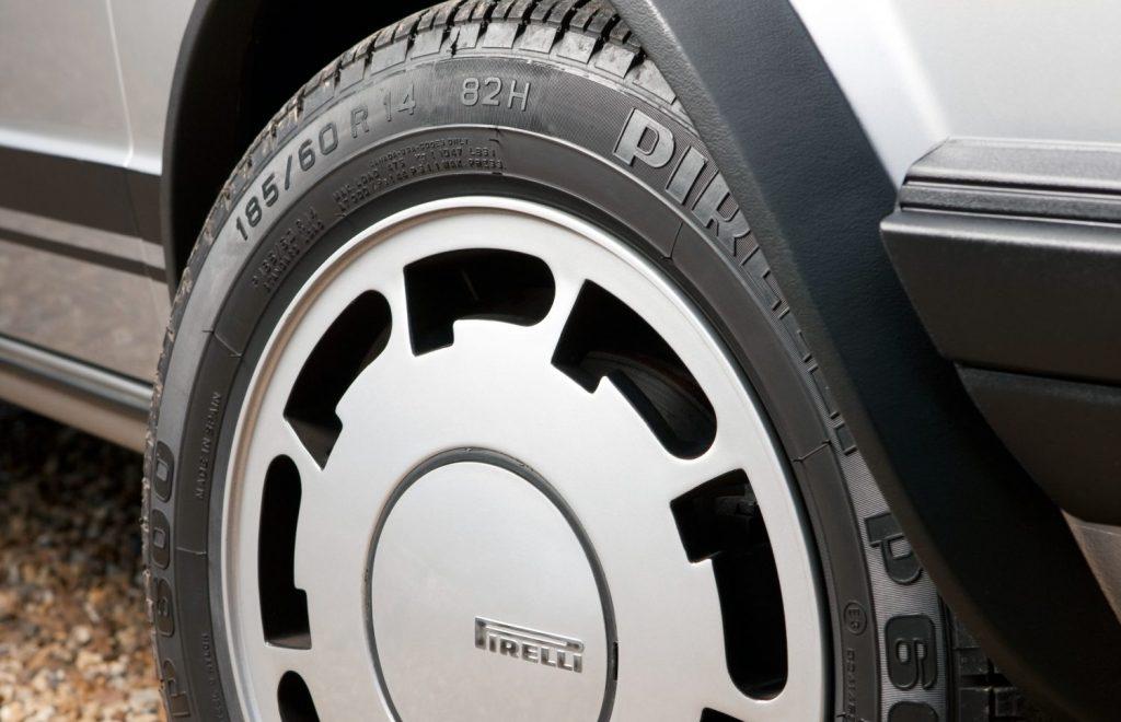 1983 Golf GTI Pirelli Edition wheel