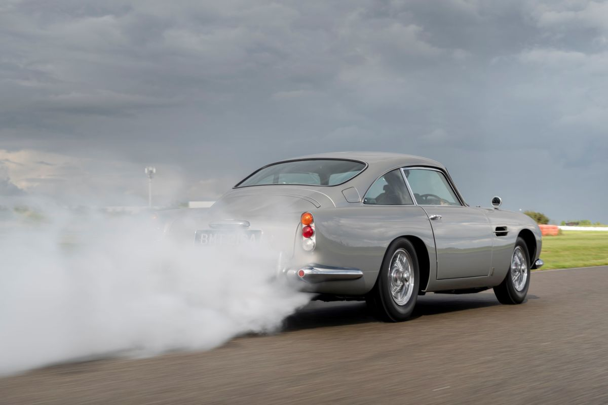 Now pay attention, 007: The mystery of the missing Aston Martin DB5 from Goldfinger could be solved