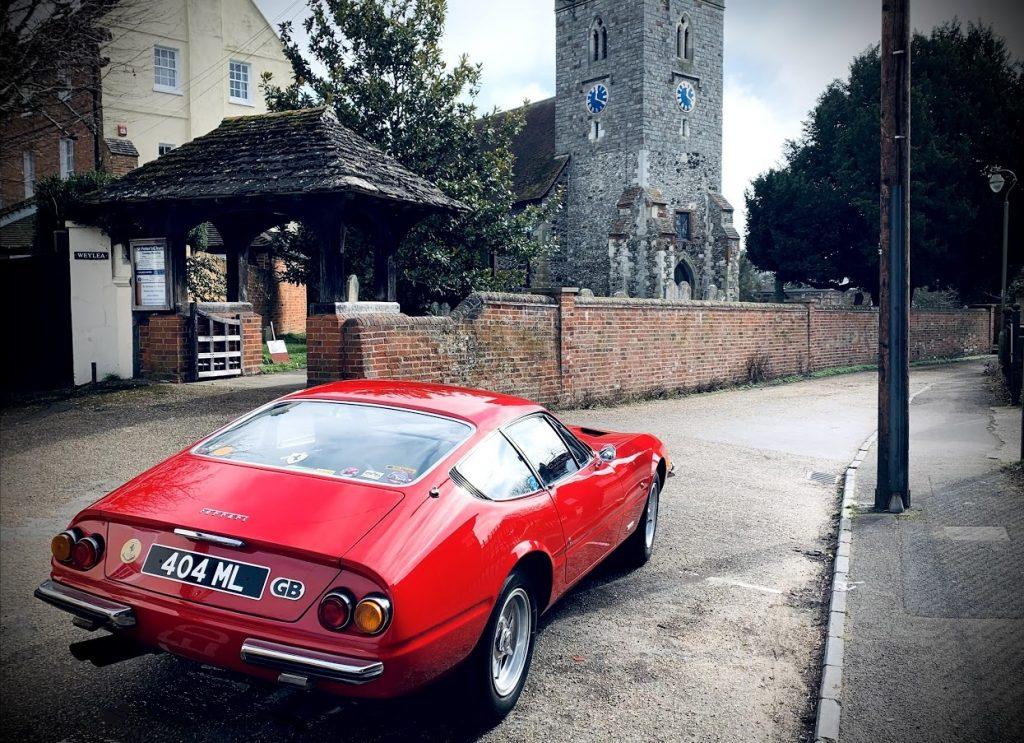 Matthew Lange Ferrari Daytona