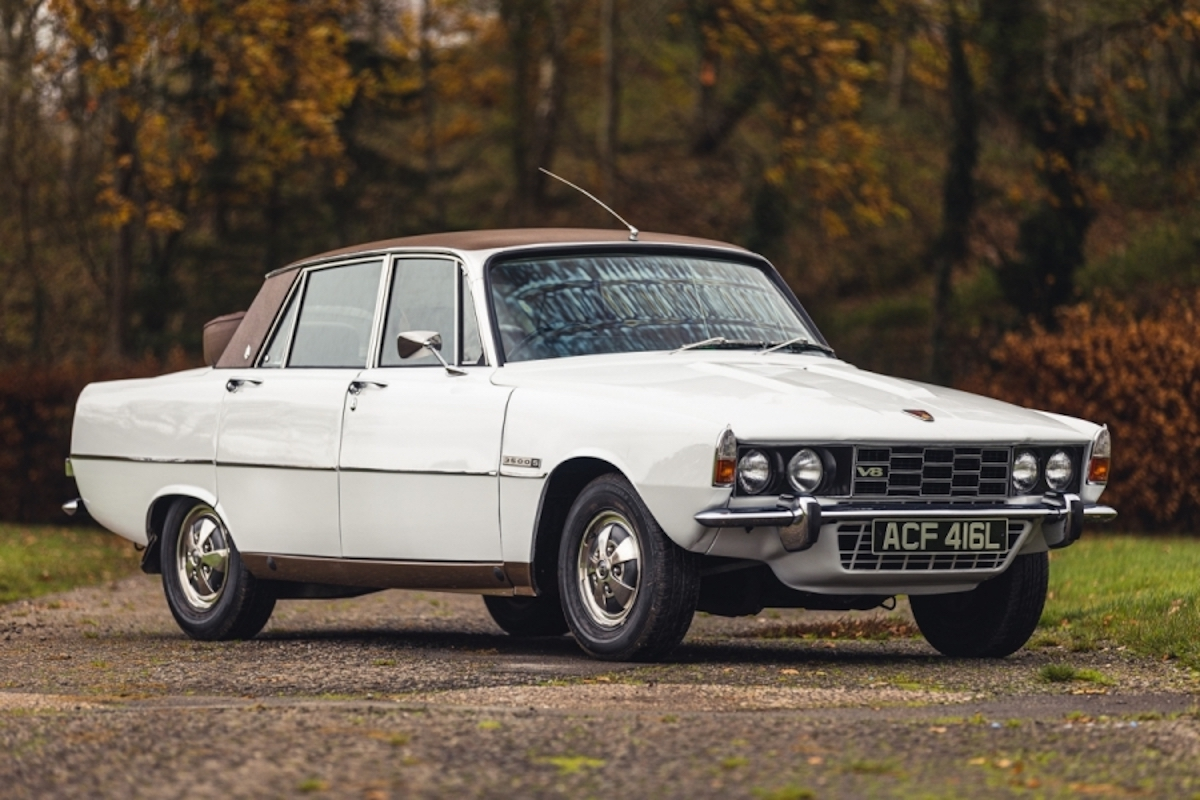 Buying guide: Rover P6 (1963-1977)