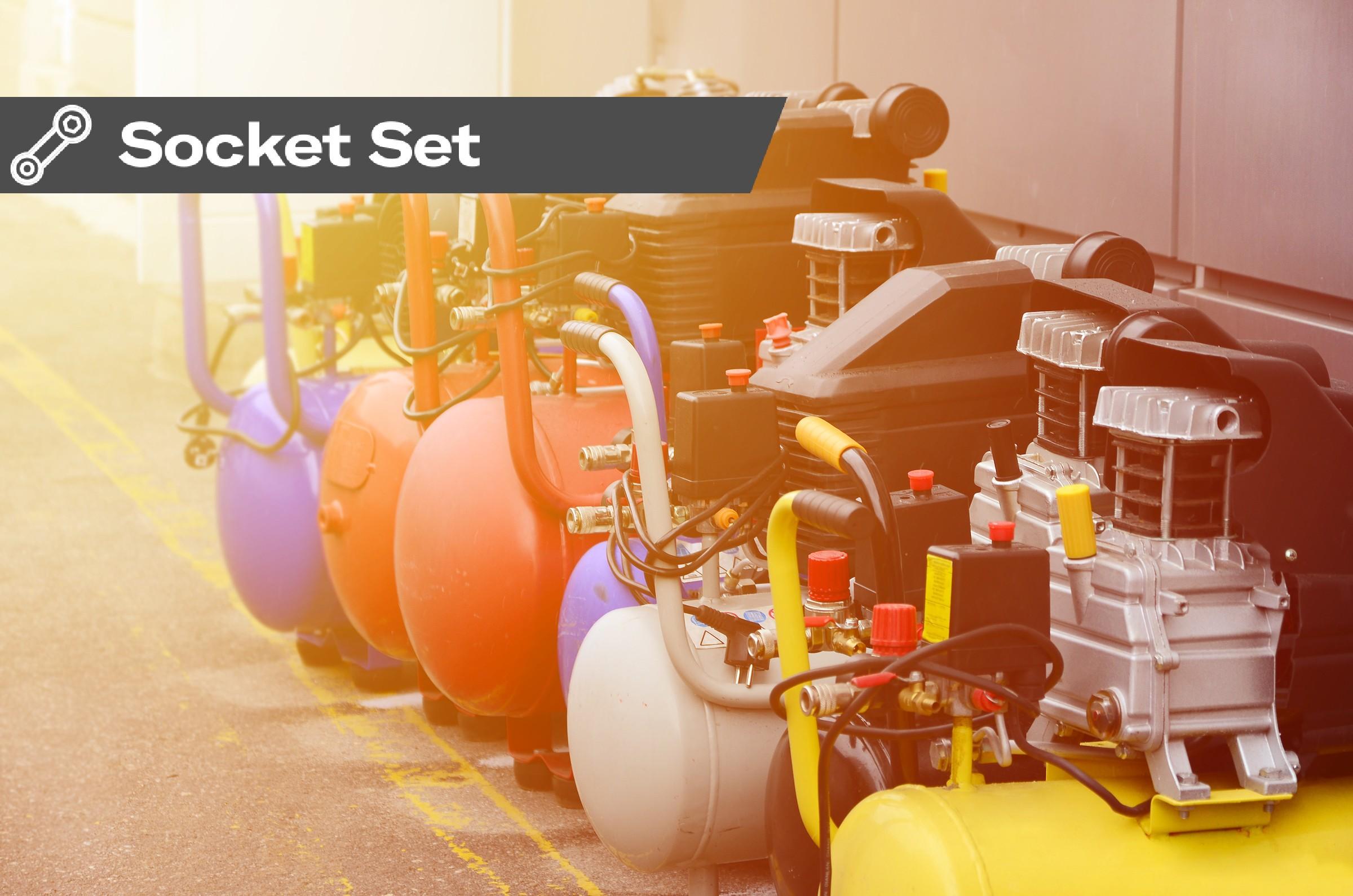 Socket Set: Compressors, your best friend in the workshop?
