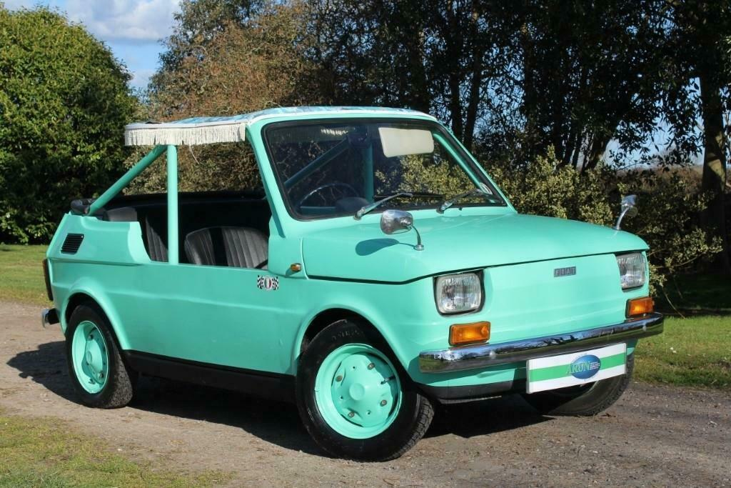 This Fiat 126 beach car could make you much more Jolly